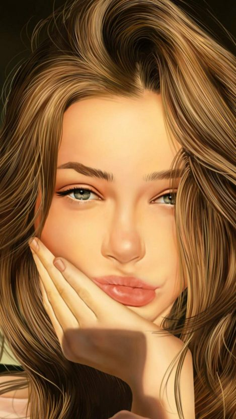 Beauty Girl Iphone Wallpaper Free Want Free Download