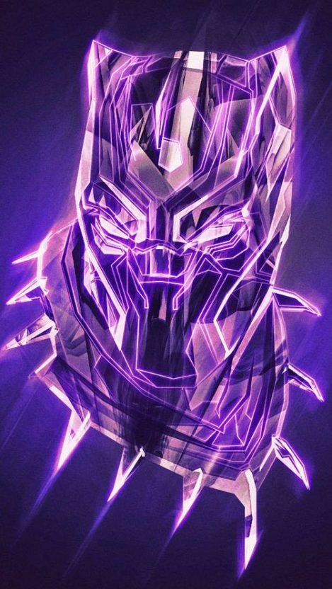 Black Panther King Artwork Iphone Wallpaper Free Want Free Download